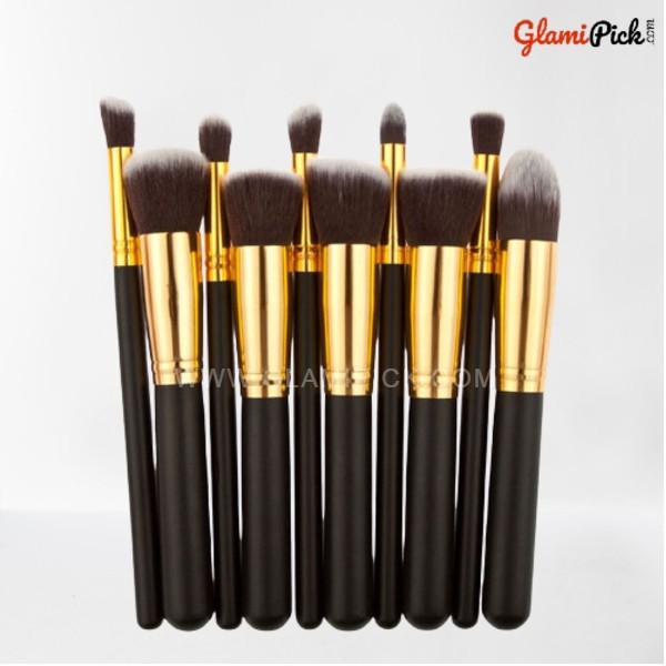 Kabuki Makeup Brush Set of 10