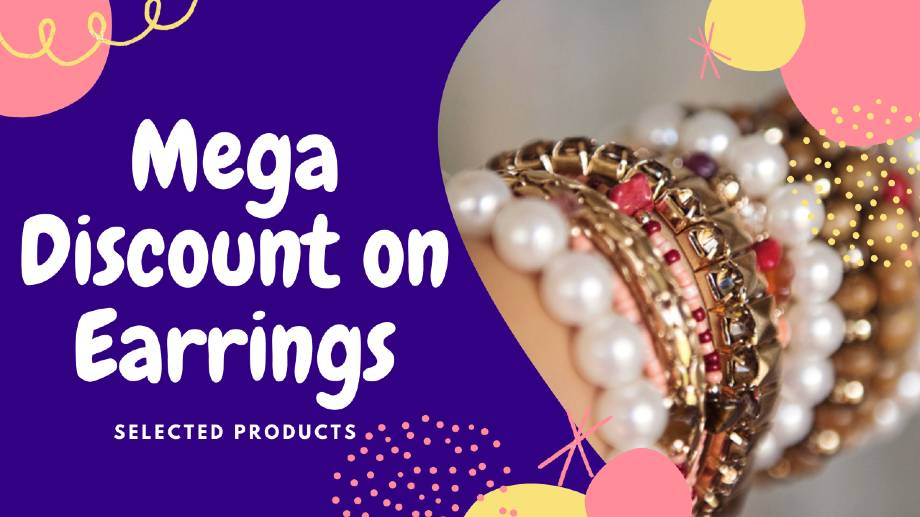 Earrings Mega Discount