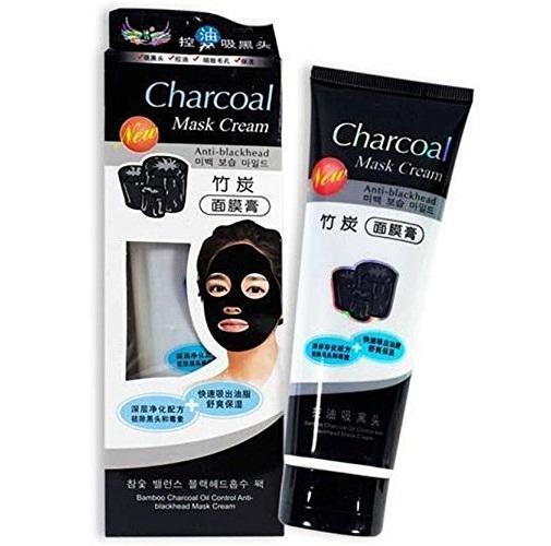 Charcoal Mask Cream Tube