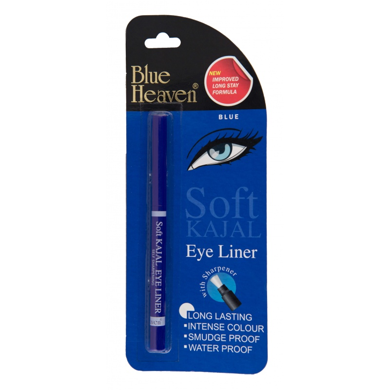 Blue Heaven Soft Kajal Eyeliner (Blue)