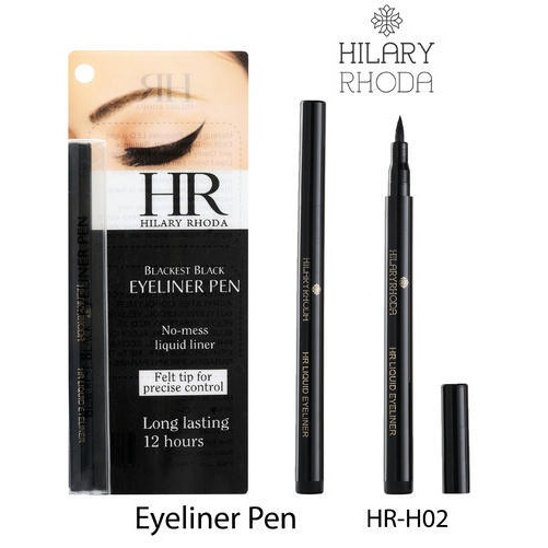 Hilary Rhoda pen eyeliner