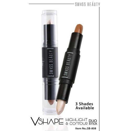 Swiss Beauty VShape highlighter & contour Stick