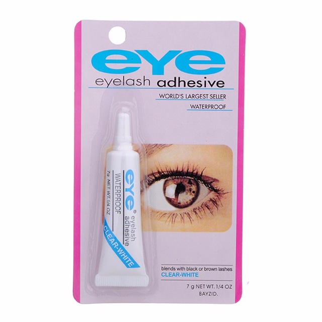 Eye Lash Glue Clear White Adhesive