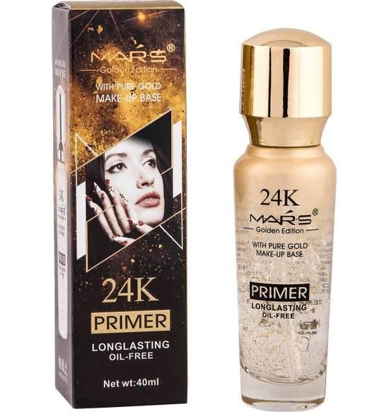 Mars Long Lasting Makeup Base 24 K Gold Primer