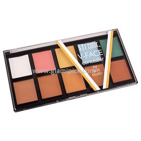 SFR Color V Face Concealer Pallet 01