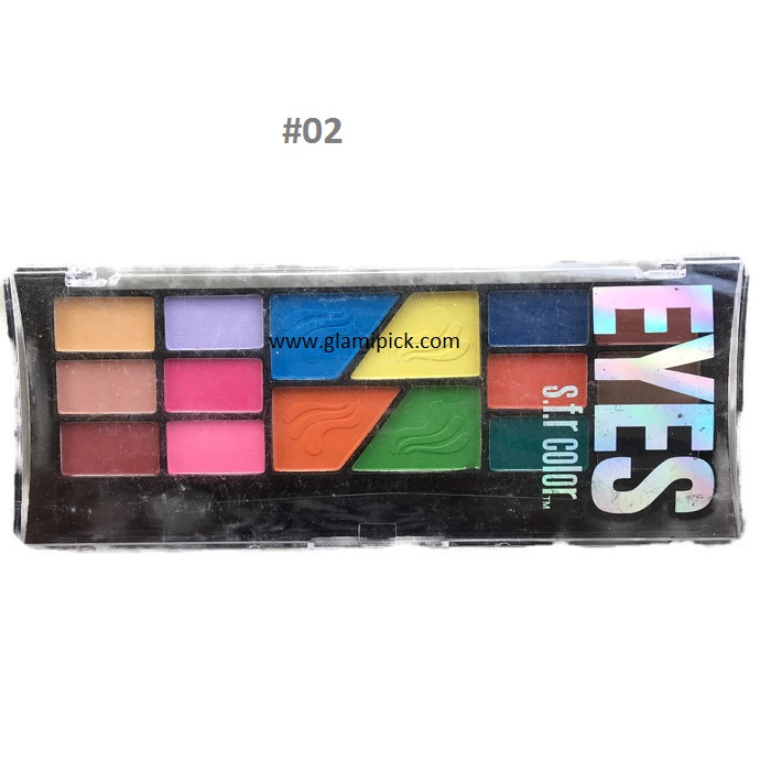 S.F.R Color eyeshadow 16 colors - 2