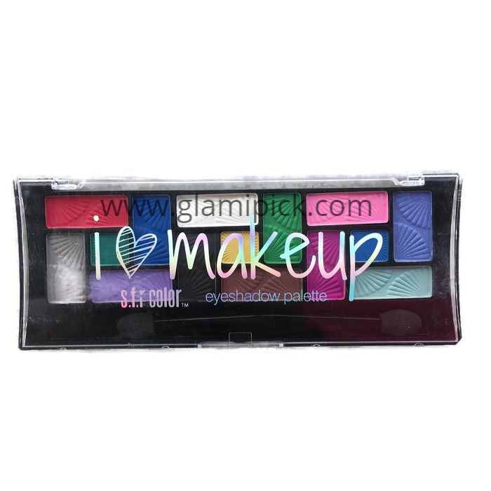 S.F.R Color I Love Makeup eye shadow 15 color