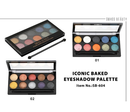 Swiss Beauty Iconic Eyeshadow 02