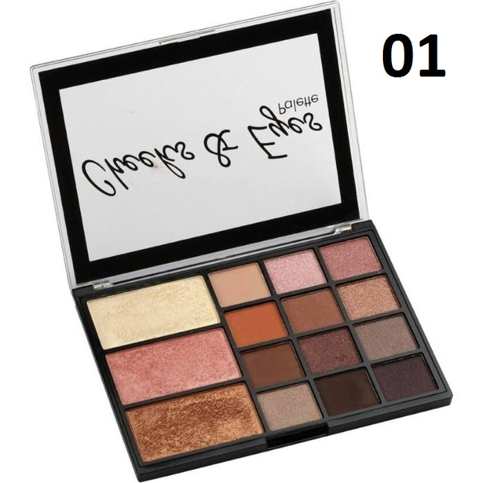 Swiss Beauty Cheeks & Eyes Palette
