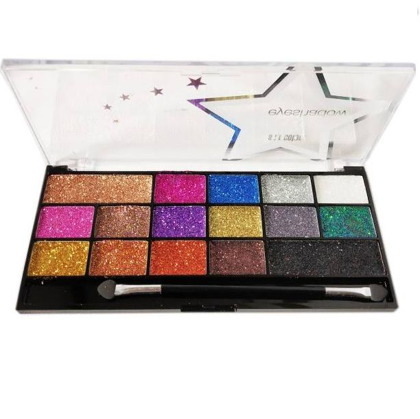 Sfr Glitter 16 colour palette