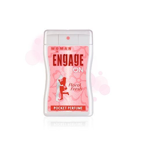 Engage On Women Floral Fresh Pocket Perfume