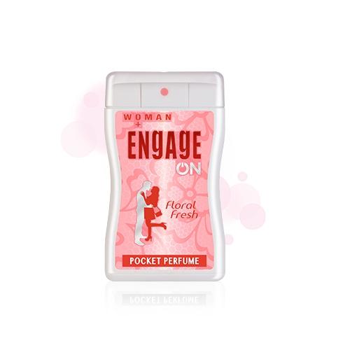 Engage On Women Floral Fresh Pocket Perfume