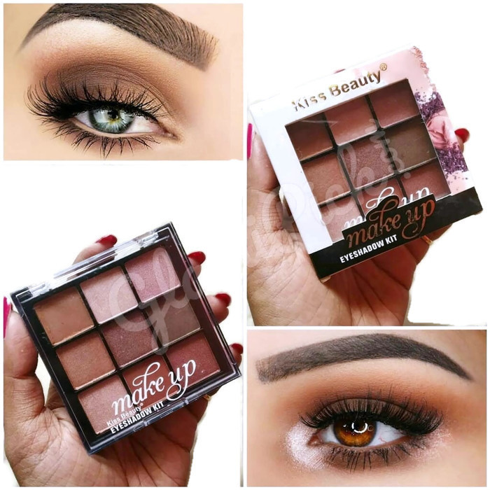 Kiss Beauty Makeup Eye shadow Kit