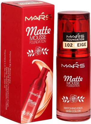 Mars Matte Mousse Foundation Beige