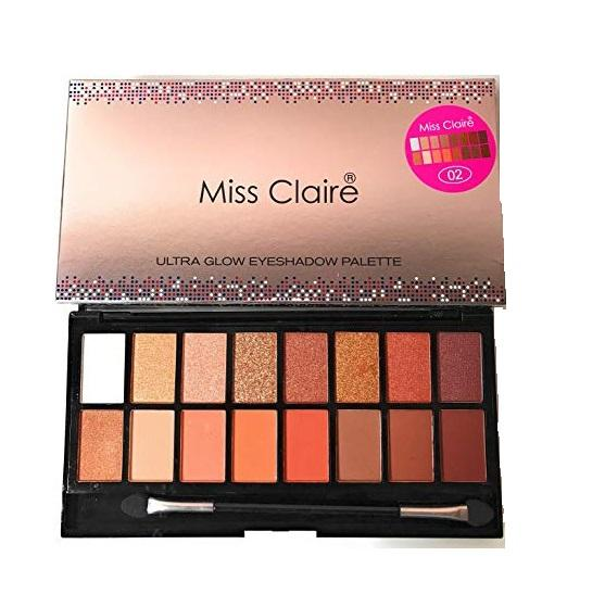 Miss Claire Ultra Glow Eyeshadow Palette 2