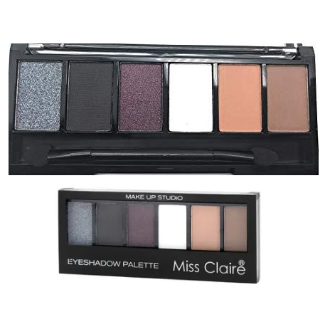 Miss Claire Makeup Studio Eyeshadow Palette - 1
