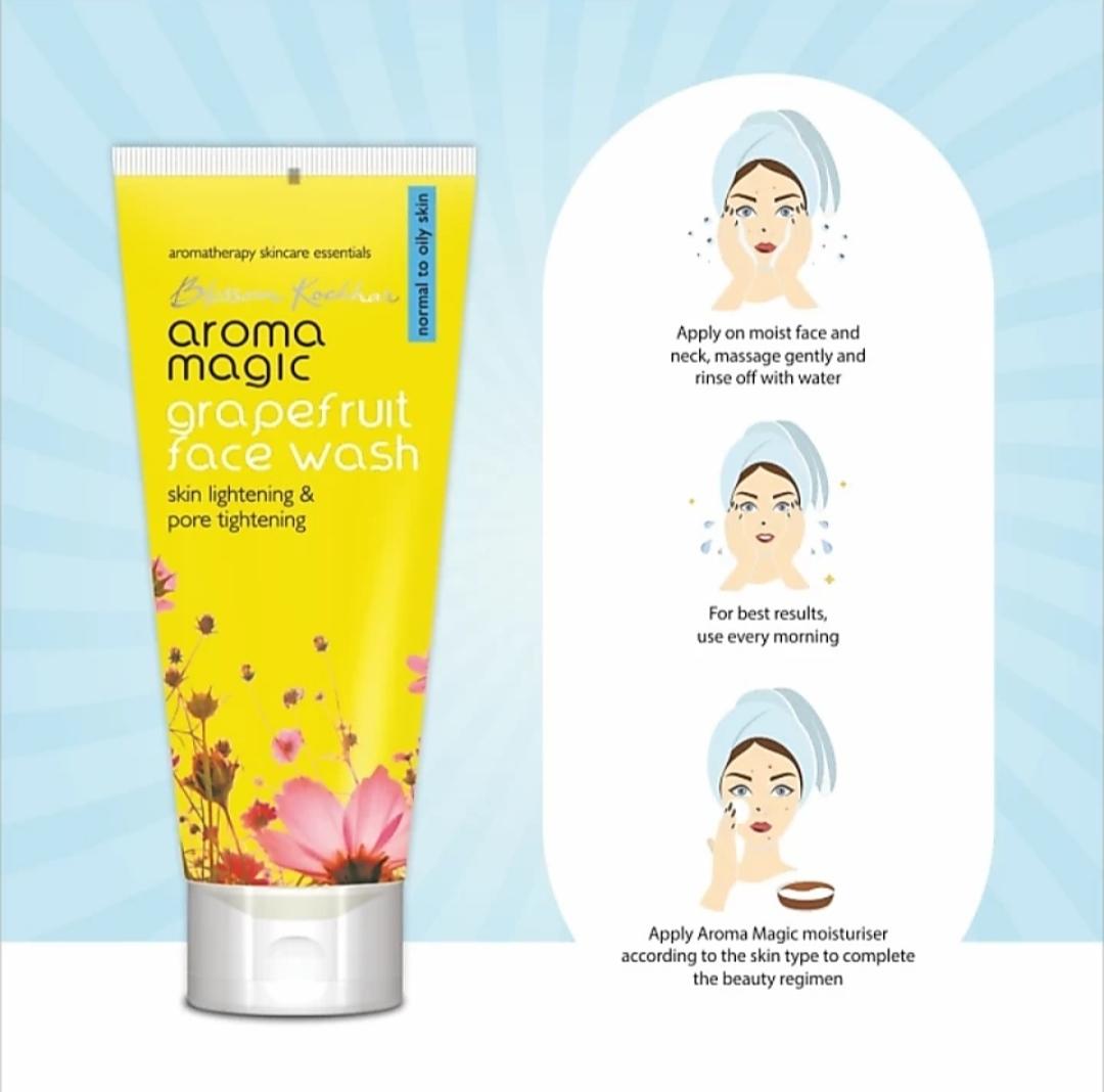 Aroma Magic Grapefruit Face Wash
