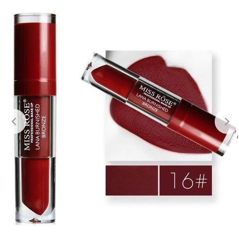 Miss Rose Liquid Lipstick -Lana Burnished Bronze