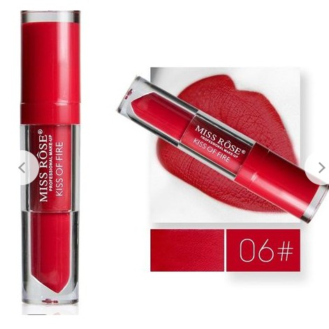 Miss Rose Liquid Lipstick - Kiss of fire