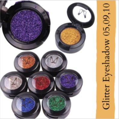 Miss Rose Glitter Eyeshadow Metallic Shimmer A