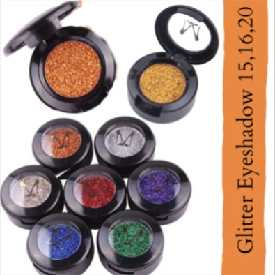 Miss Rose Glitter Eyeshadow Metallic Shimmer B