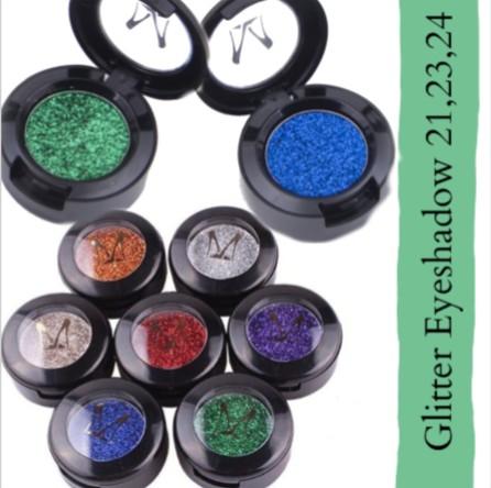 Miss Rose Glitter Eyeshadow Metallic Shimmer C