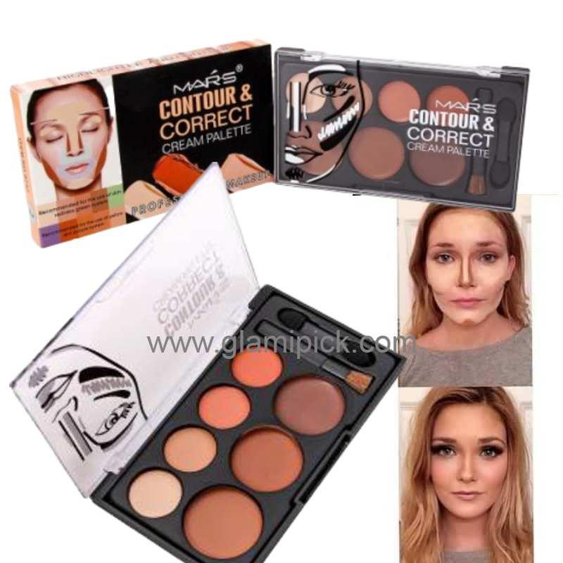 Mars Contour and Correct Cream Palette