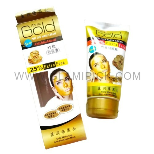 Gold peel off mask cream anti blackhead
