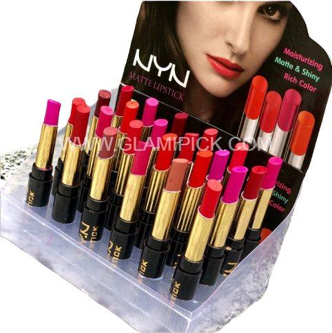 NYN Matte finish Lipstick Set of 24 pcs
