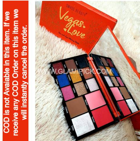 Swiss Beauty Vegas Love Eyeshadow Pallet
