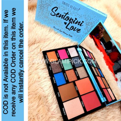 Swiss Beauty Sentorini Love Eyeshadow Pallet