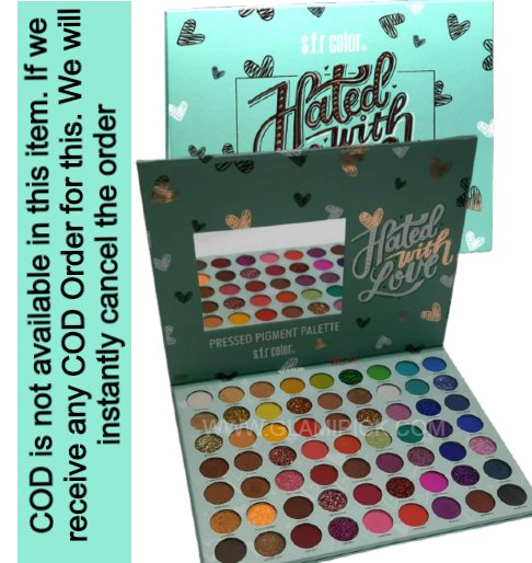 SFR COLOR hated with Love 63 Color Pressed Pigment Eyeshadow Palette​