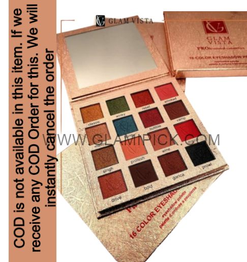 Glam Vista 16 Color Eyeshadow Pallet