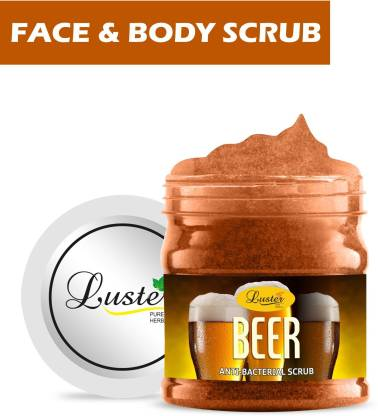 Luster Beer Gel Scrub