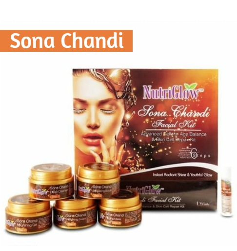 NutriGlow Sona Chandi Facial Kit