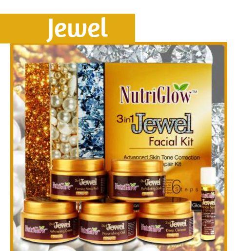 NutriGlow jewel facial kit