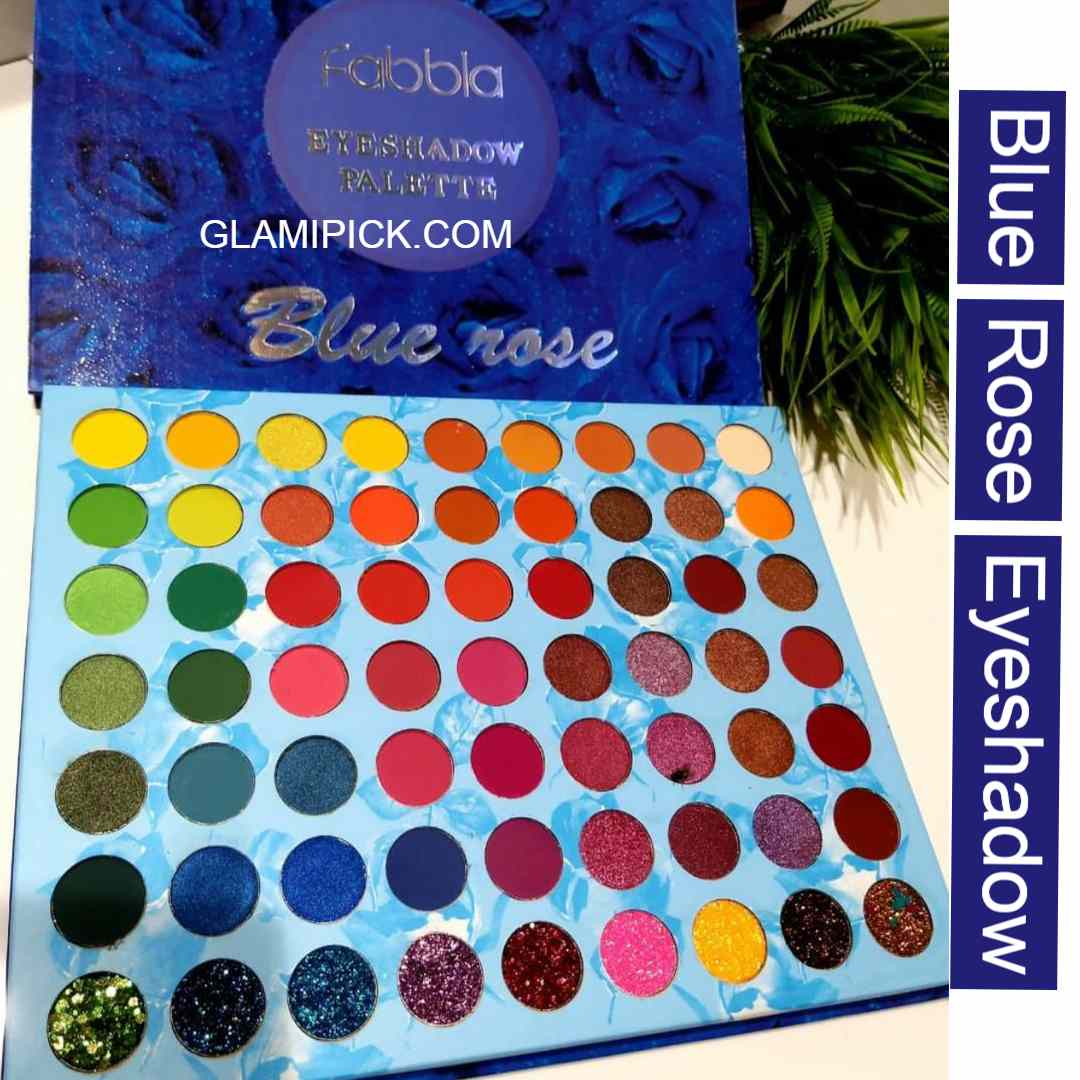 Blue Rose Eyeshadow Pallet