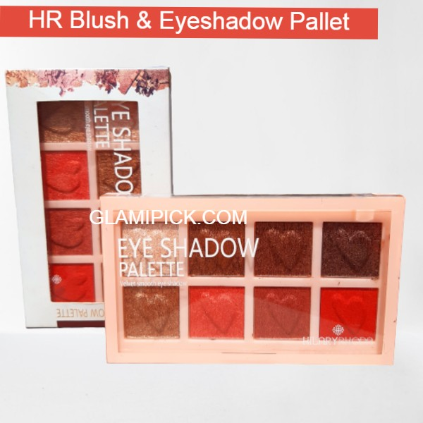 Hilary Rhoda 8 color Eyeshadow Blusher Pallet