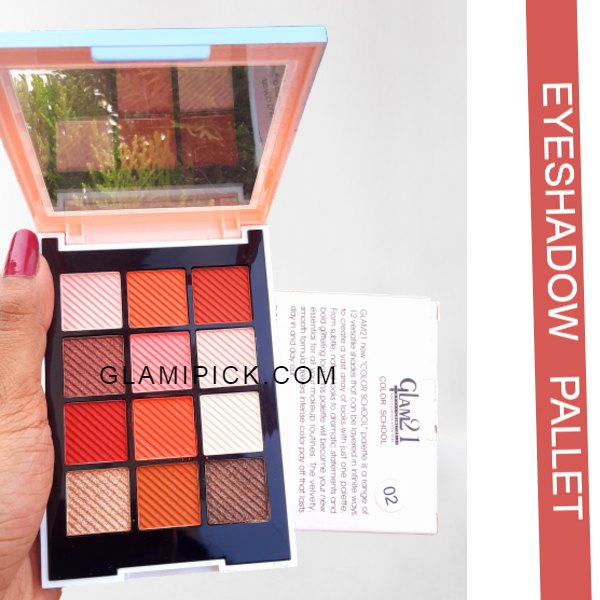Glam 21 Colour School Eye shadow - 1