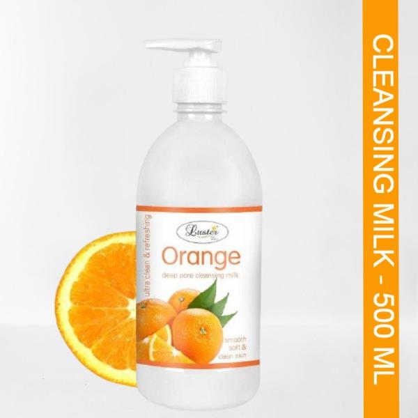 Luster Orange Deep Cleansing Milk