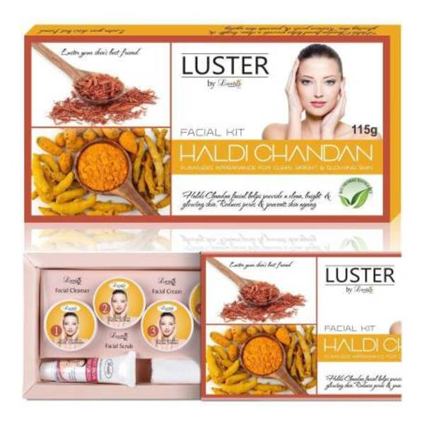 Luster Haldi Chandan Facial Kit For Flawless Appearence