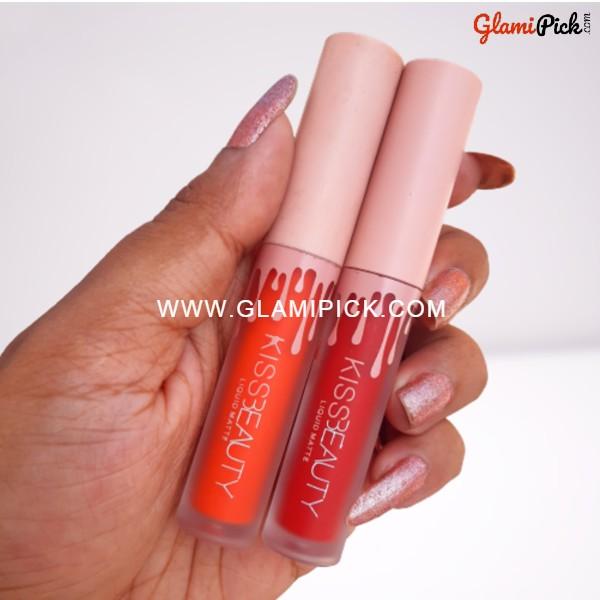 Kiss Beauty liquid Matte Lipstick B