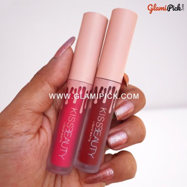 Kiss Beauty liquid Matte Lipstick C