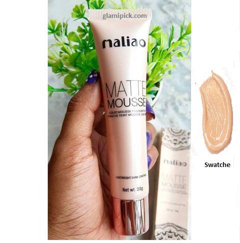 Maliao matte mousse foundation