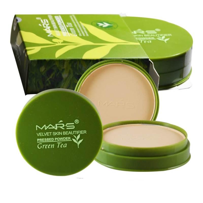 Mars Green Tea Compact Powder