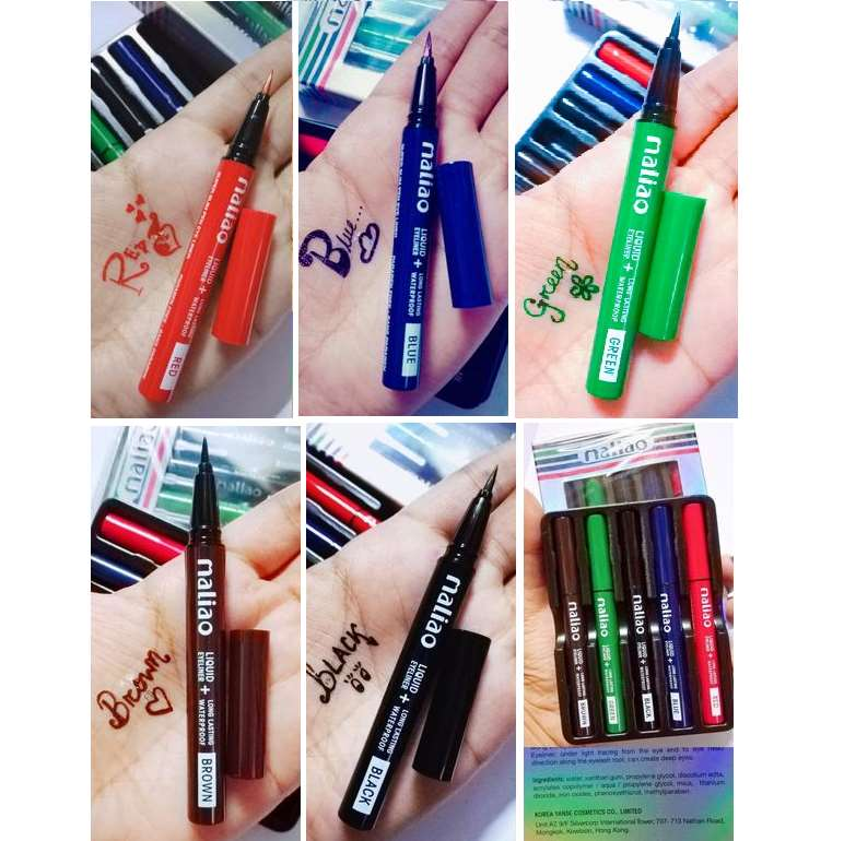 Maliao Mini water proof Colored pen eyeliner set