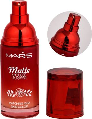 Mars Matte Mousse Foundation Medium