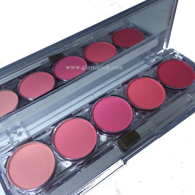 Mars 5 color blush pallet