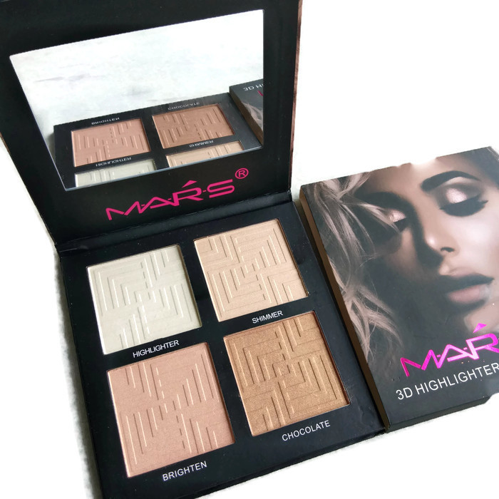 Mars 4IN1 3D Highlighter Powder Palette