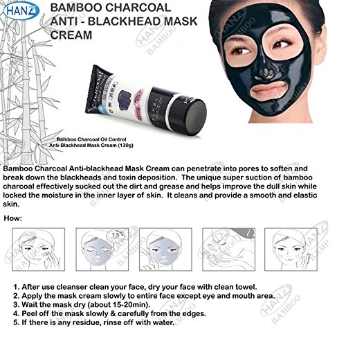 Charcoal Mask Cream Tube